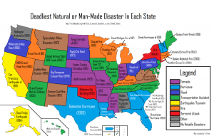 Disaster map